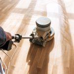 Floor Refinishing sanding machine in Roy, Utah