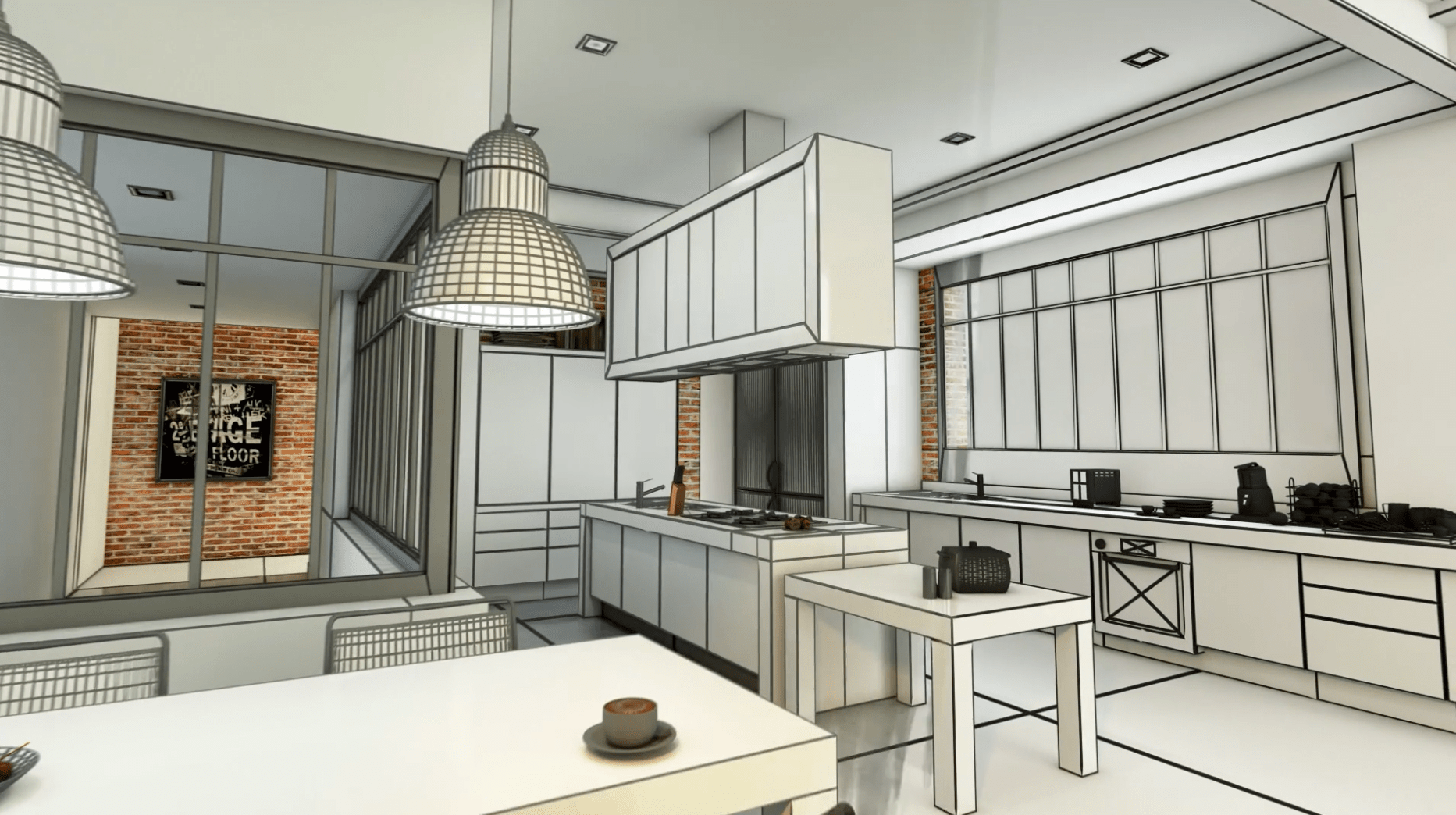 Kitchen remodel project planning